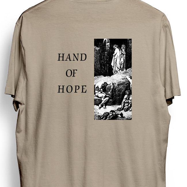 Morning Again / モーニング・アゲイン - Hand of Hope Tシャツ(サンド)