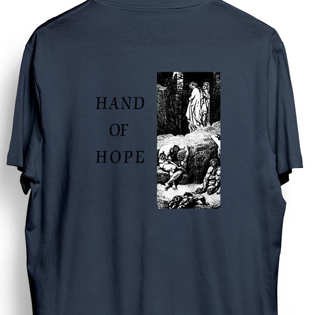 Morning Again / モーニング・アゲイン - Hand of Hope Tシャツ(ライトネイビー)