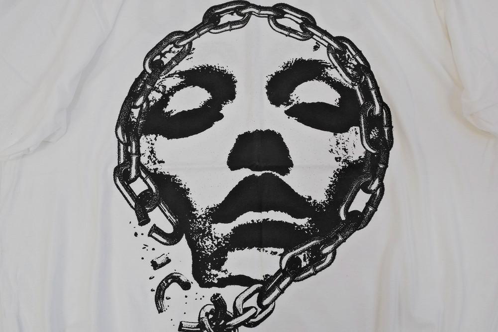 【即納】Converge x INFEST / コンヴァージ - BREAK THE CHAIN Tシャツ(ホワイト)※廃盤
