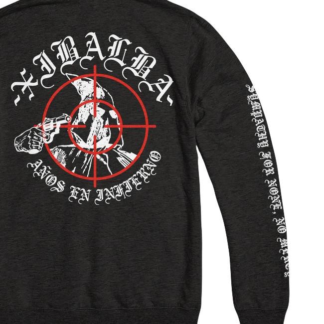 Xibalba / シバルバ - NO MERCY プルオーバーパーカー(ブラック)