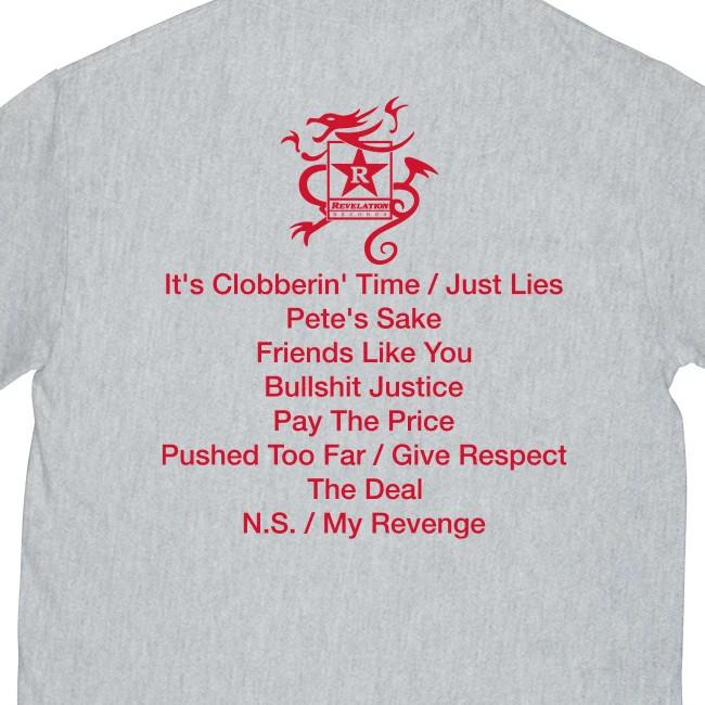 Sick of It All / シック・オブ・イット・オール  SOIA x BJ PAPAS Tシャツ(グレー)
