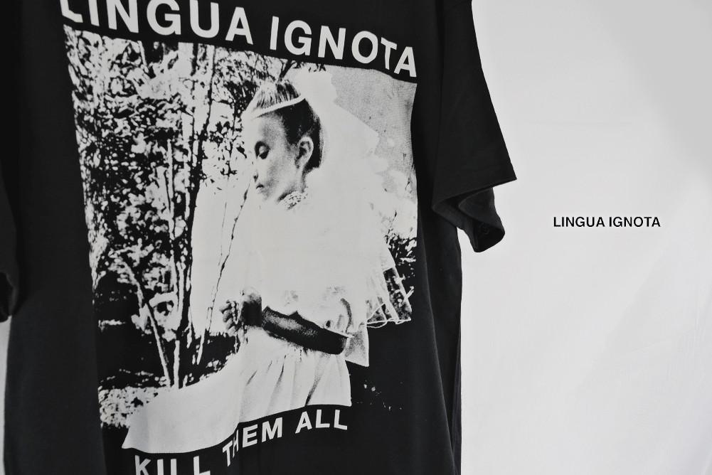 【即納】Lingua Ignota / リンガ・イグノタ - KILL THEM ALL(皆殺し) Tシャツ(ブラック)