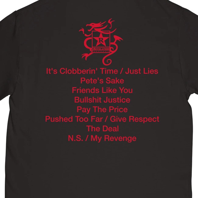 Sick of It All / シック・オブ・イット・オール  SOIA x BJ PAPAS Tシャツ(ブラック)