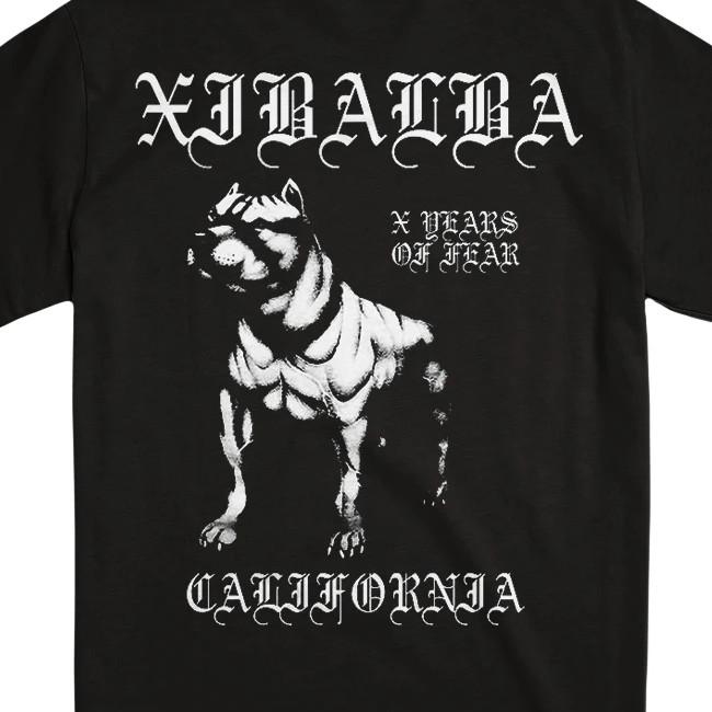 Xibalba / シバルバ - RUDE DOGS Tシャツ(ブラック)