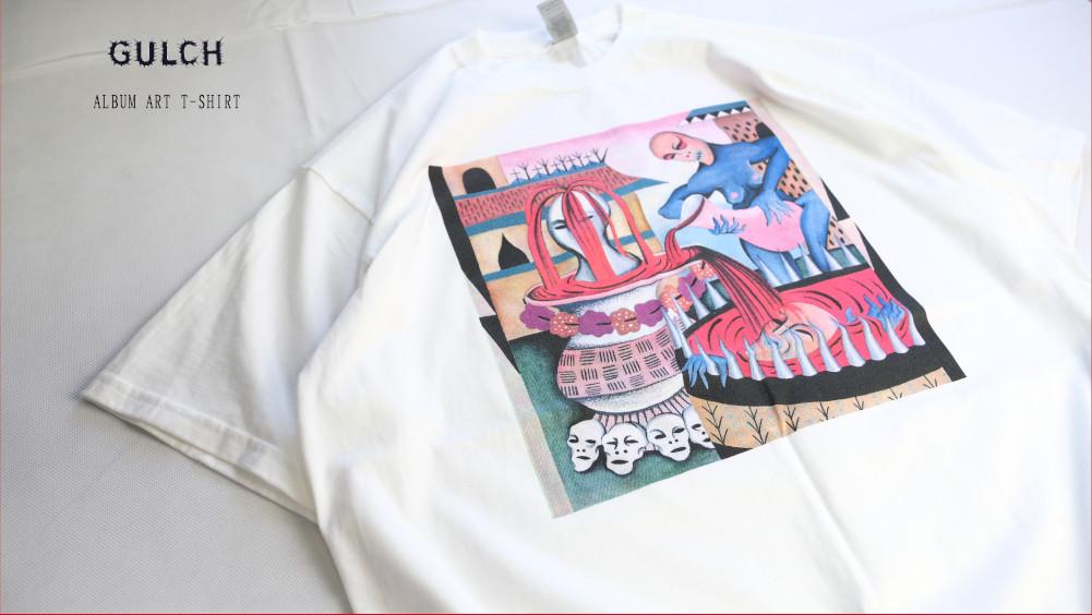 【即納】GULCH / ガルチ - ALBUM ART Tシャツ(ホワイト)