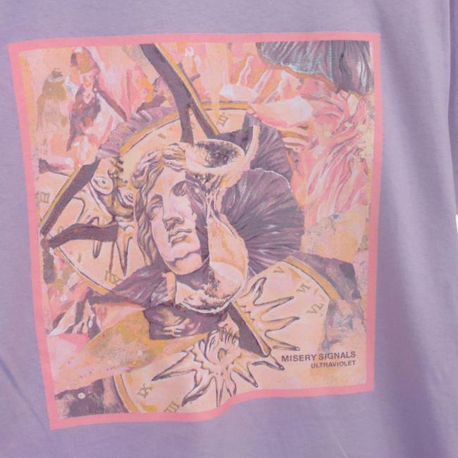 Misery Signals / ミザリー・シグナルズ - Ultraviolet Album Tシャツ(オーキッド・パープル)