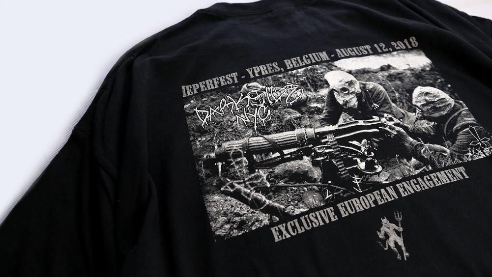 【即納】Darkside NYC / ダークサイド NYC - Logo Black Tシャツ(ブラック)