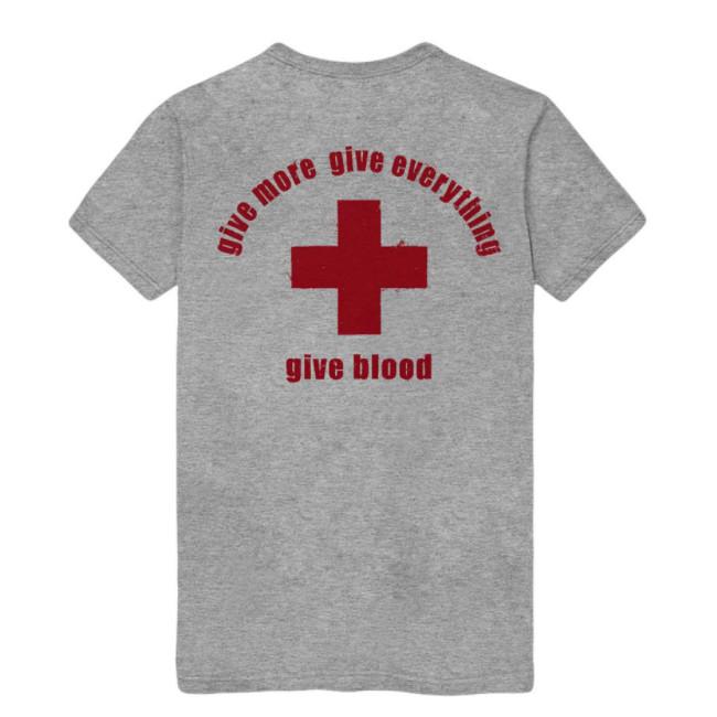 BANE / ベイン - Give Blood Tシャツ(グレー)
