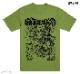 Gatecreeper / ゲートクリーパー - BILL CONNORS II Tシャツ(グリーン)