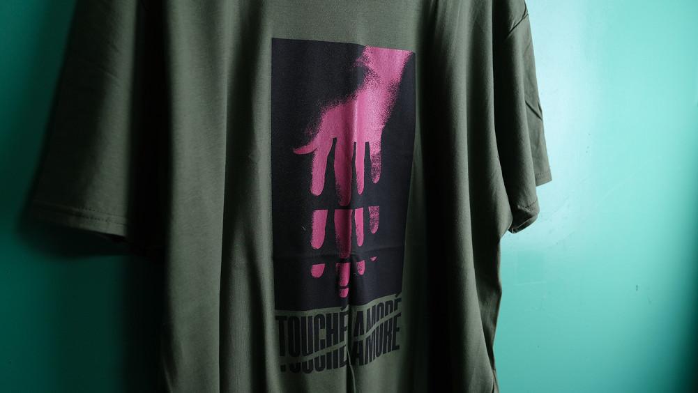 【即納】Touche Amore/トゥーシェイ・アモーレ - Reach Tシャツ(グリーン)