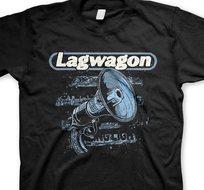 Lagwagon / ラグワゴン - Stealing Light Tシャツ (ブラック)
