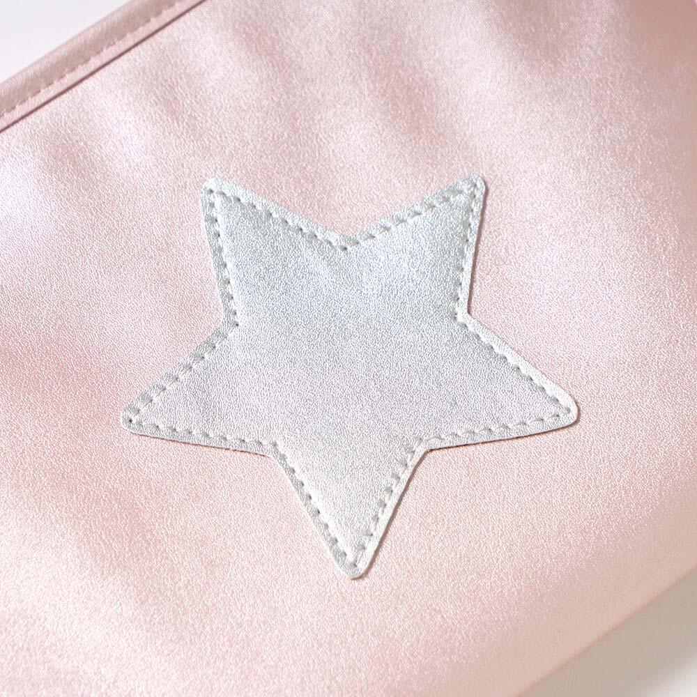 母子手帳ケース・おむつポーチ 2点セット ピンク / 10mois(ディモワ)