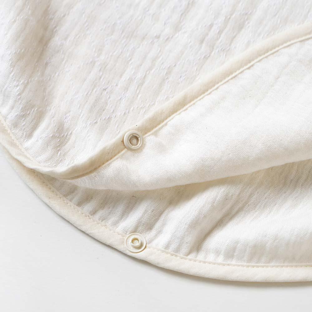 COTTON × TENCEL(TM)繊維 3重ガーゼスリーパー ベビーサイズ ナチュラル / BOBO