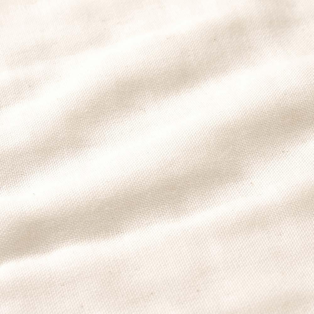 ふくふくガーゼ(6重ガーゼ) ループ付きハンカチ3枚セット きなり / NAOMI ITO