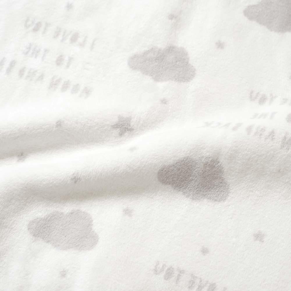 まくら・綿毛布 2点セット グレー / 10mois(ディモワ)