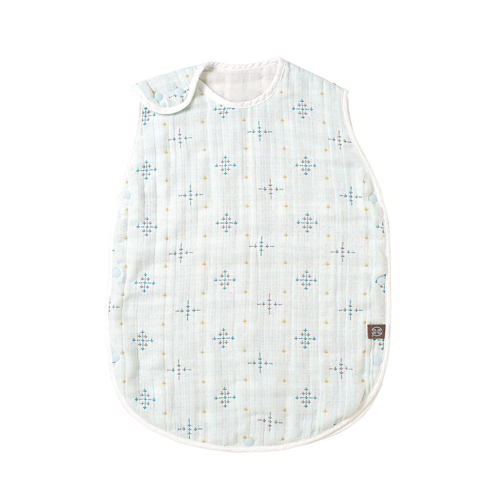 コットン×シルク スリーパー ベビーサイズ ふくふくガーゼ(6重ガーゼ) / BOBO / 名入れ刺繍可