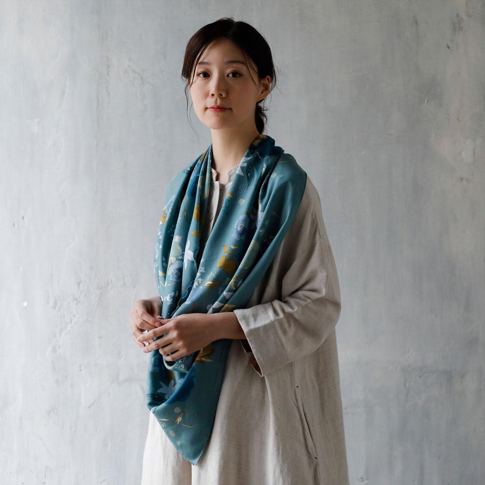 ナーシングスカーフ グリーン / NAOMI ITO
