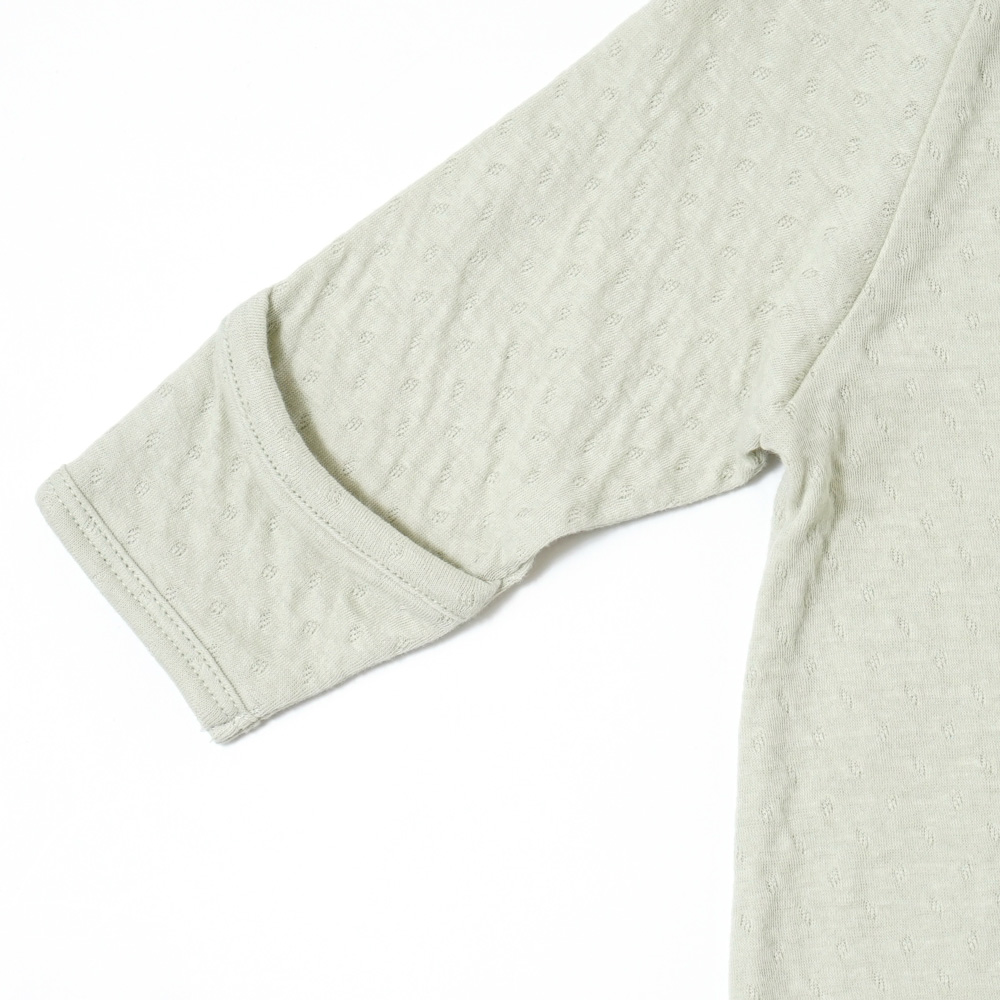 guri(ぐり) オーガニックコットン 2wayドレス(2wayオール) グリーン 50cm-70cm / Hoppetta plus