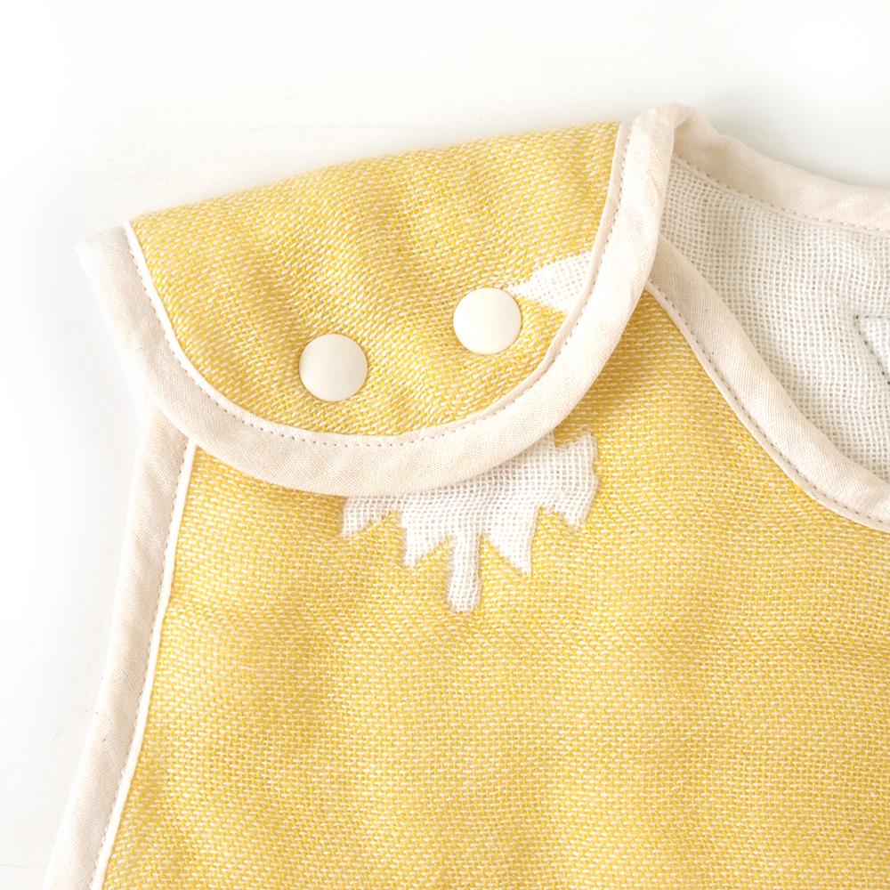 トーテム コットン×ウール スリーパー トドラー・キッズサイズ ふくふくガーゼ(6重ガーゼ) / BOBO / 名入れ刺繍可