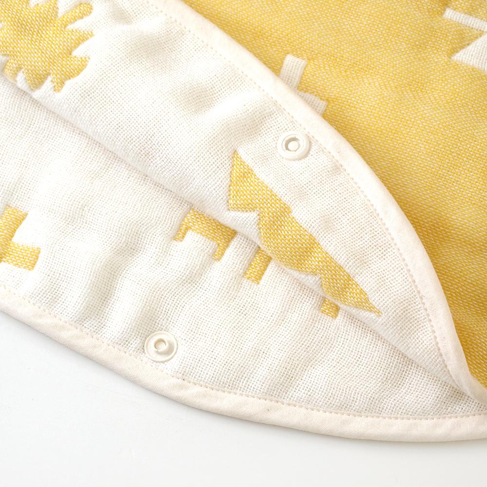 トーテム コットン×ウール スリーパー ベビーサイズ  ふくふくガーゼ(6重ガーゼ)/ BOBO / 名入れ刺繍可