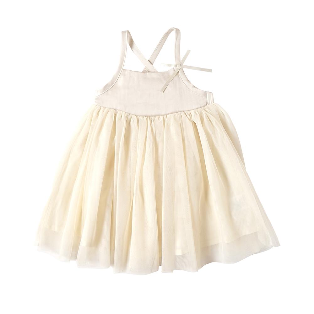 チュールキャミドレス