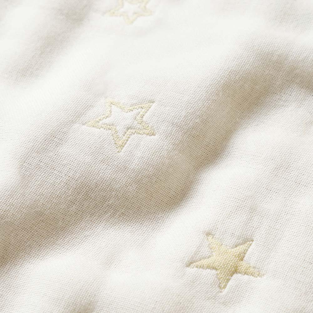 エクリュ 2wayスリーパー 袖付き ふくふくガーゼ(6重ガーゼ) / 10mois(ディモワ) / 名入れ刺繍可