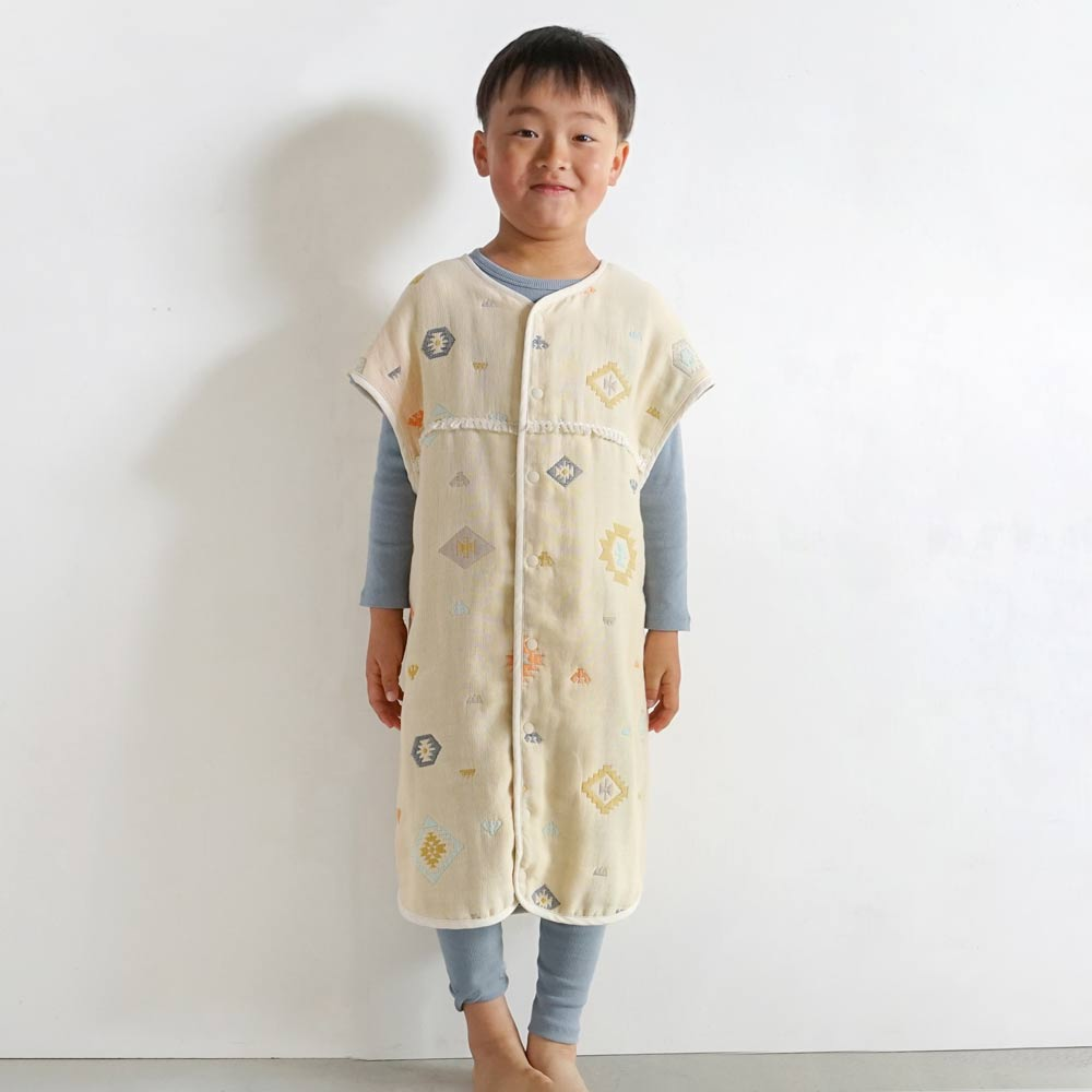 トーテム ジュニアスリーパー ふくふくガーゼ(6重ガーゼ)  / BOBO / 名入れ刺繍可