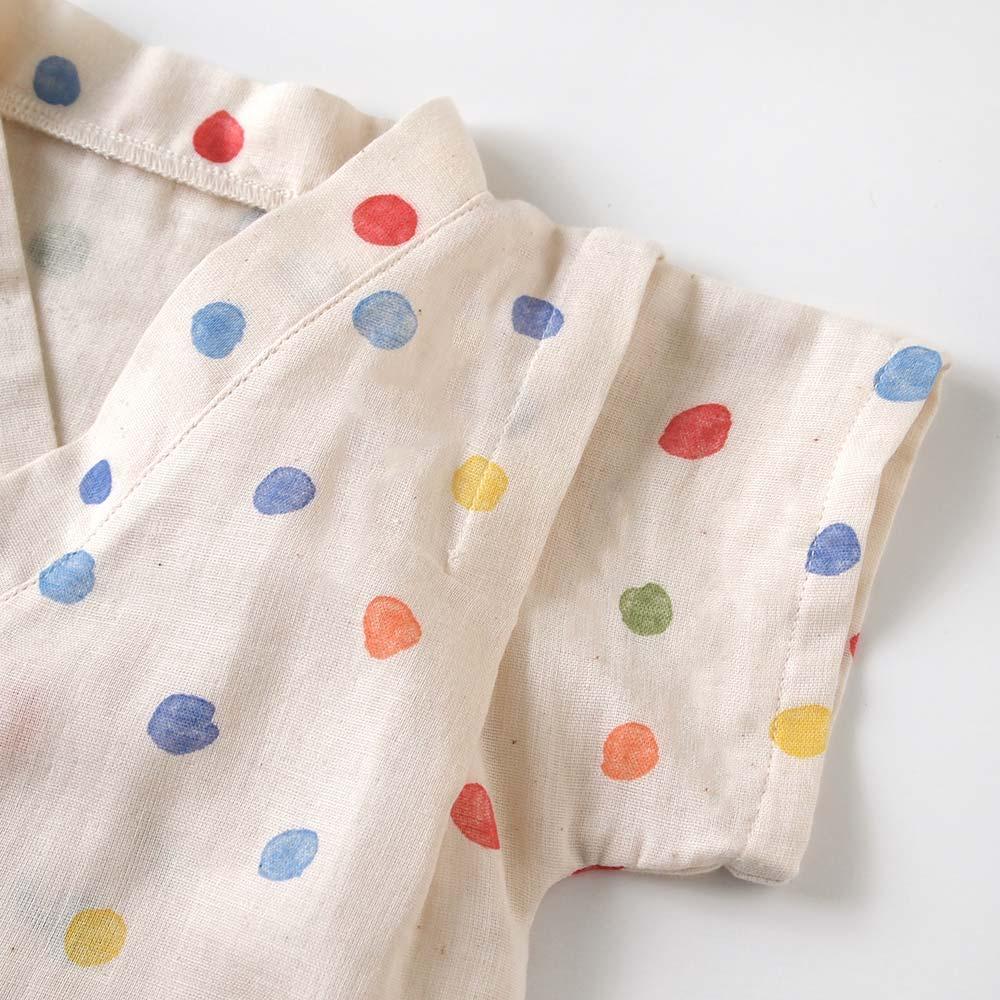 じんべい2wayドレス(2wayオール) キナリ 50〜70cm / NAOMI ITO