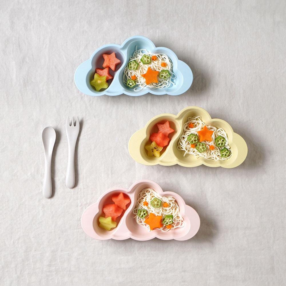 mamamanma(マママンマ) お食事セット バニラ/ 10mois(ディモワ)