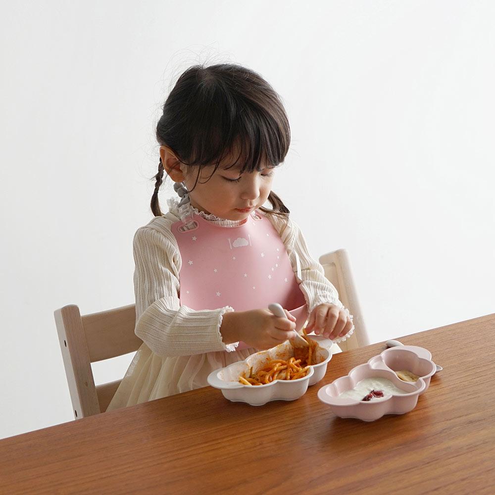 mamamanma(マママンマ) お食事セット ピンク / 10mois(ディモワ)