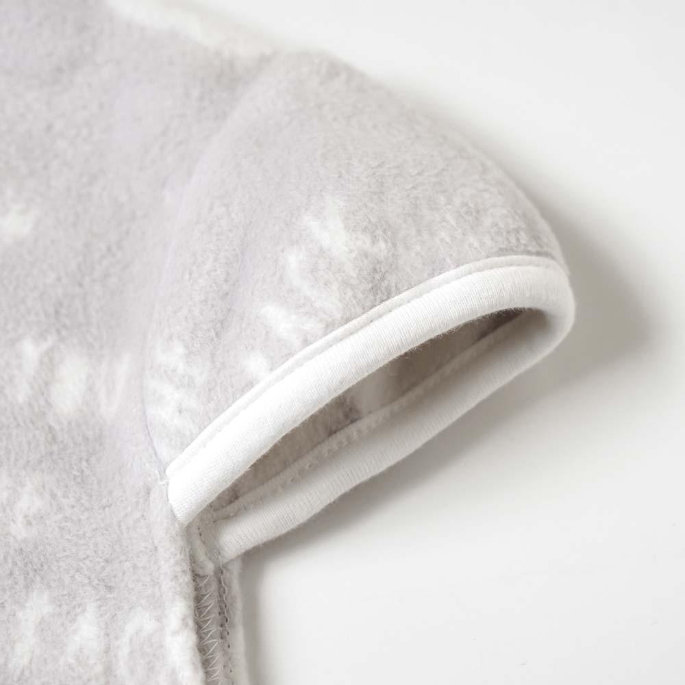 綿毛布 2wayスリーパー グレー / 10mois(ディモワ)