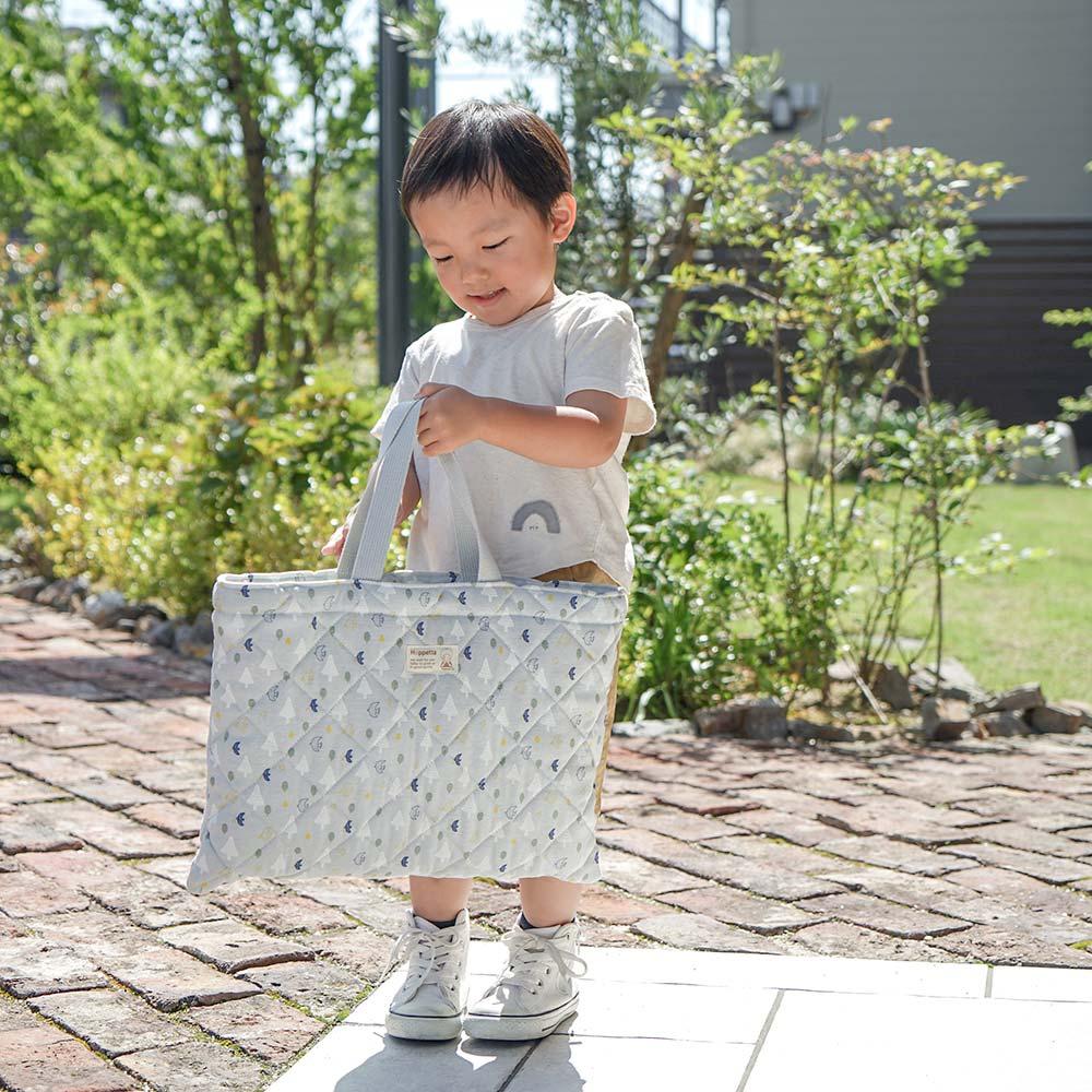 入園・入学バッグ5点セット クッキア グレー / Hoppetta