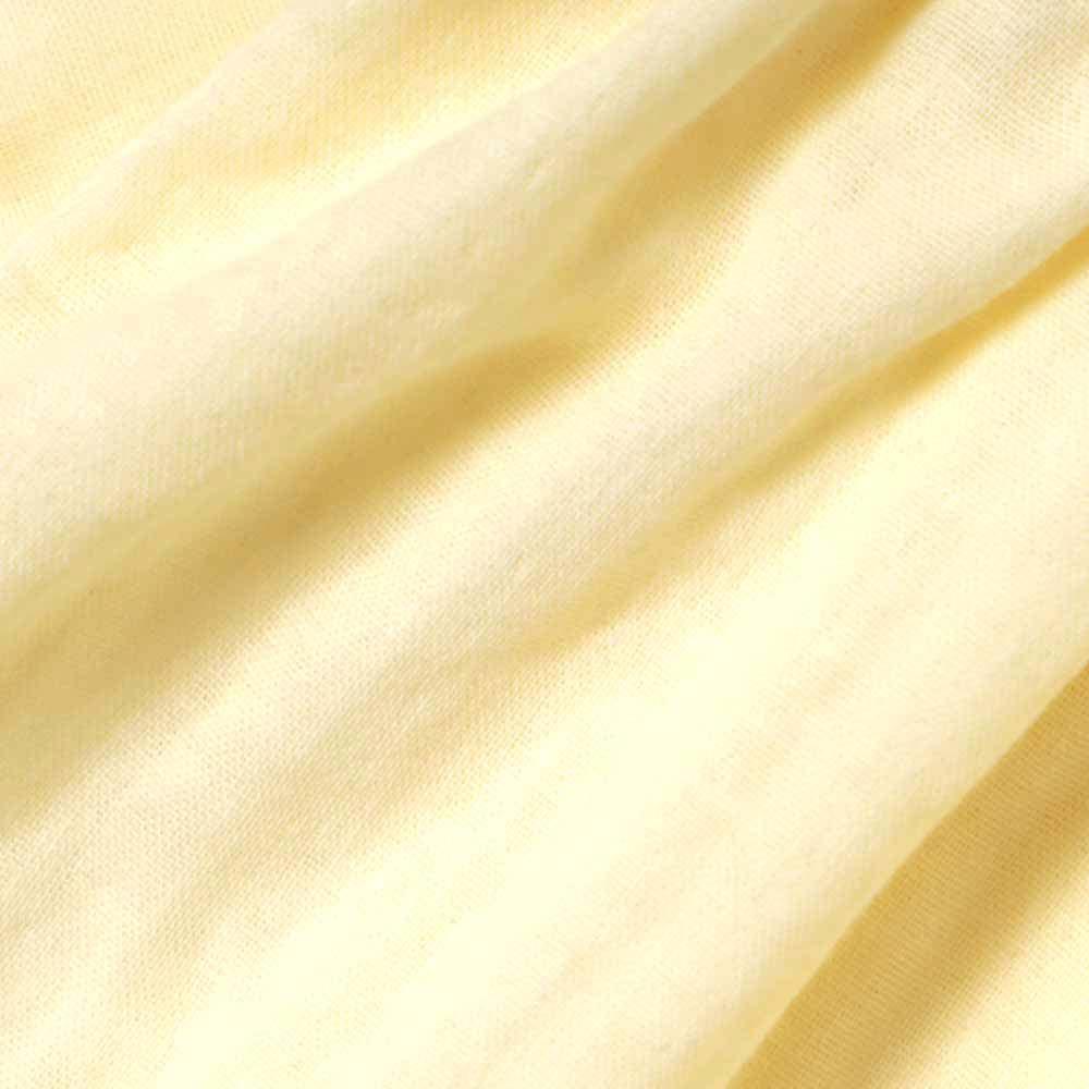 カシュクール 花びらブラウス イエロー 80cm・90cm・100cm / Hoppetta
