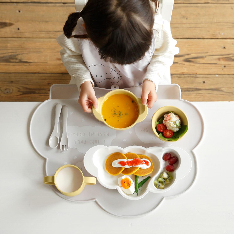 mamamanma(マママンマ) お食事セット grande バニラ / 10mois(ディモワ)