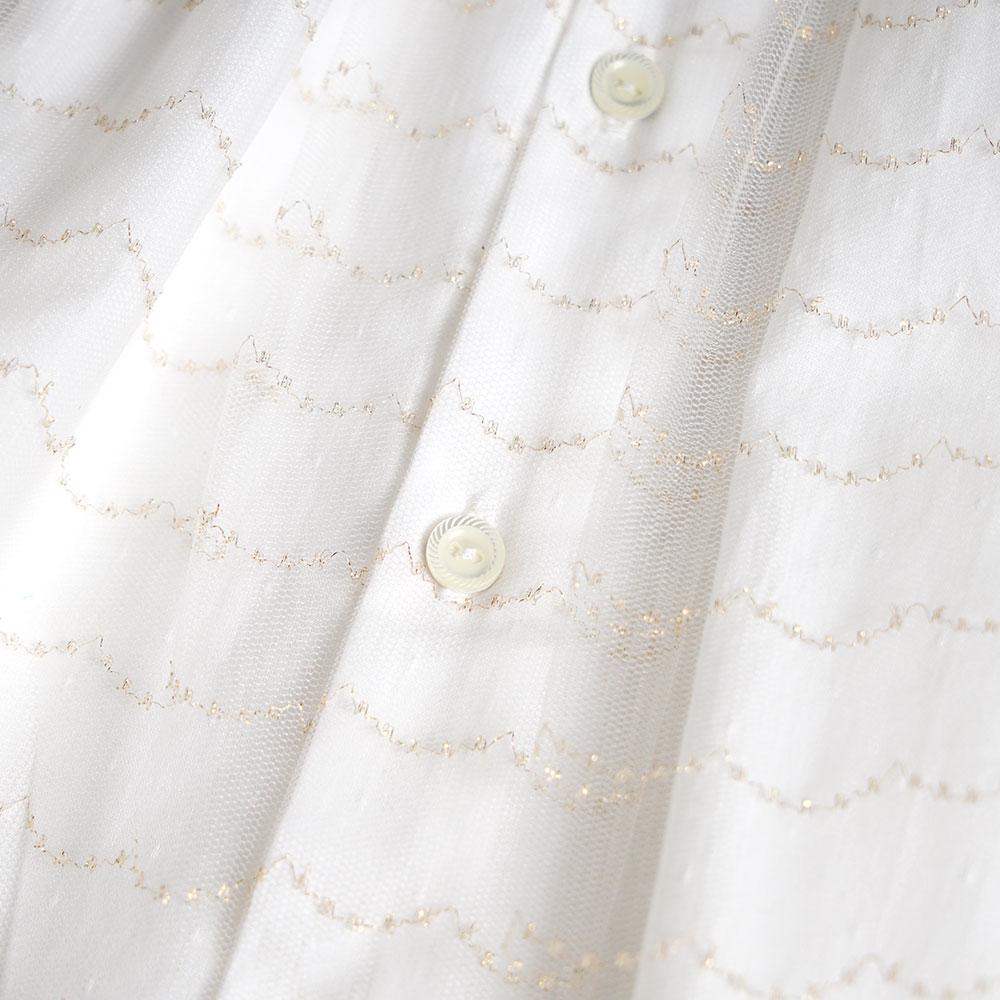 チュチュレース ベビードレス 50〜60cm / 10mois(ディモワ)