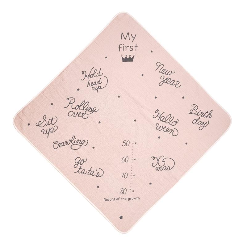 アニバーサリータオル・まくら・ガラガラ ギフトセット シェルピンク / 出産祝い
