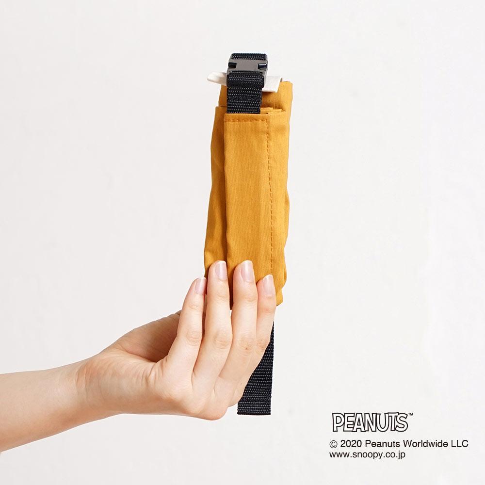 マルチポーチ BEAGLE HUG マスタード / 10mois(ディモワ)×PEANUTS