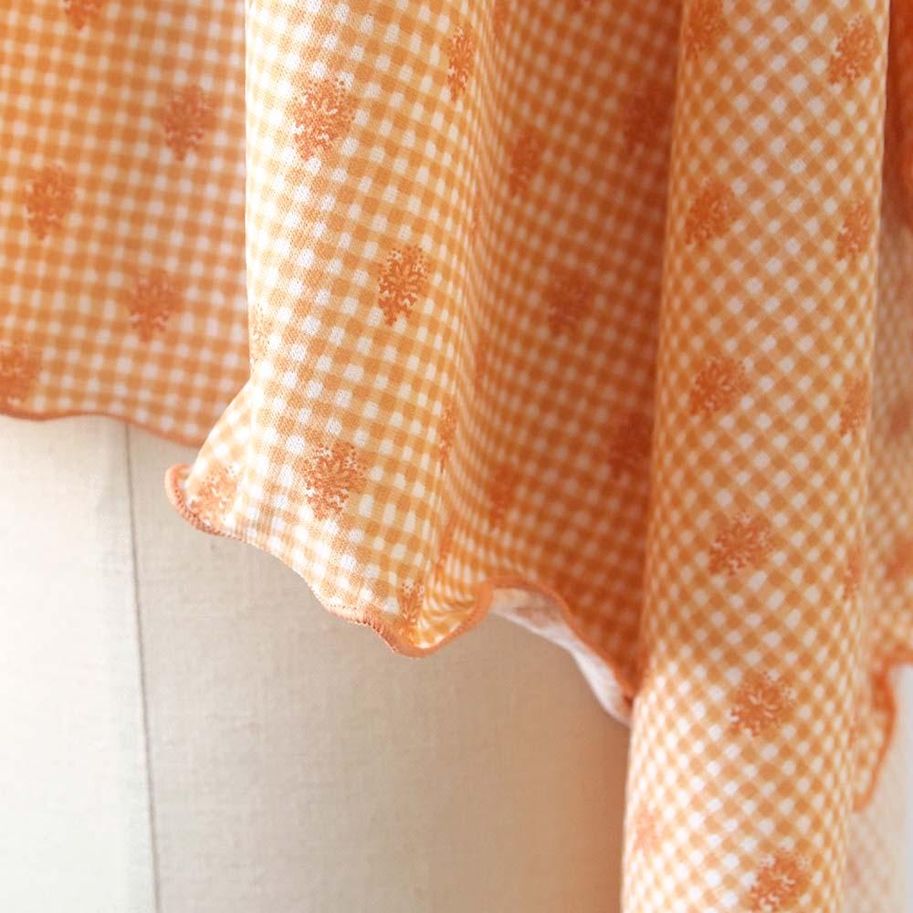 UVカット マルチケープ(巾着つき) オレンジ / SOULEIADO