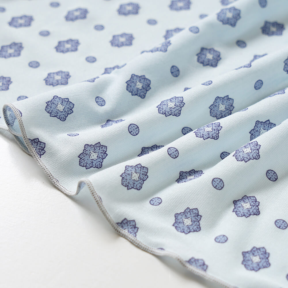 UVカット マルチケープ(巾着つき) ミントブルー / SOULEIADO