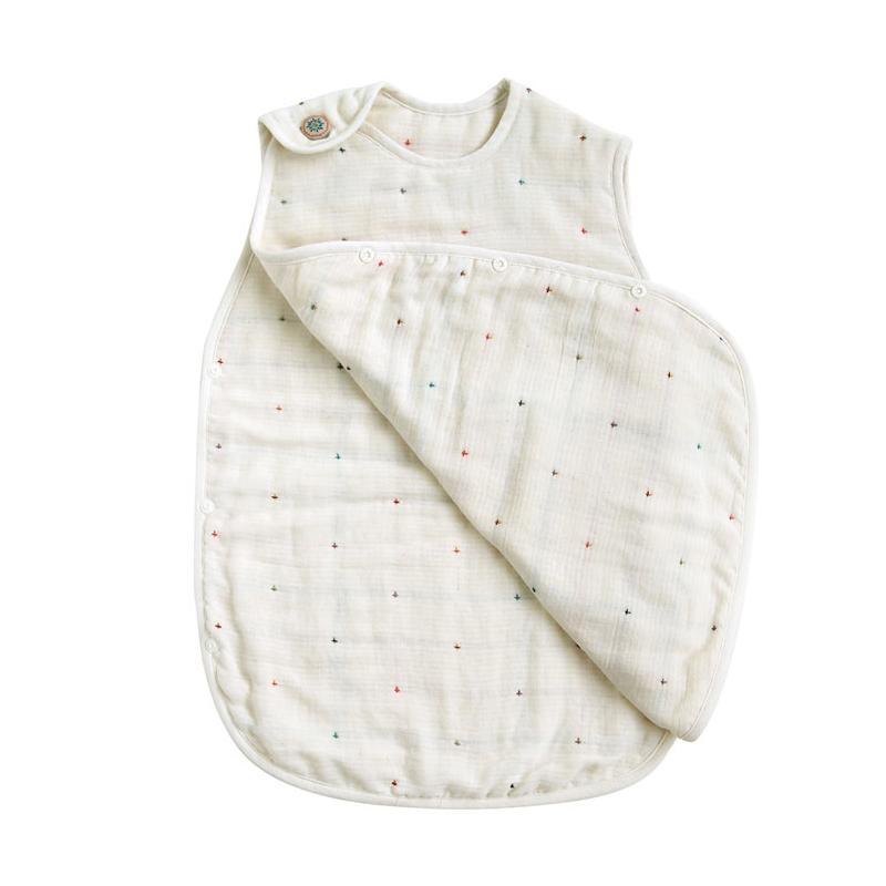 スリーパー トドラー・キッズサイズ ふくふくガーゼ(6重ガーゼ) / BOBO / 名入れ刺繍可