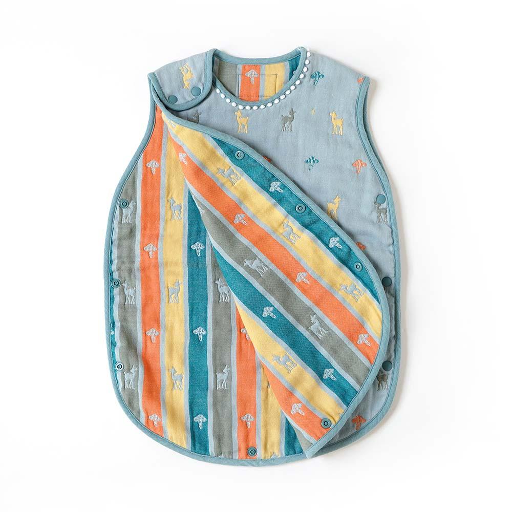 帆布ギフトBAG Amelie(アメリ) スリーパー・ケット・まくらのセット / 10mois / 出産祝い / 名入れ刺繍可