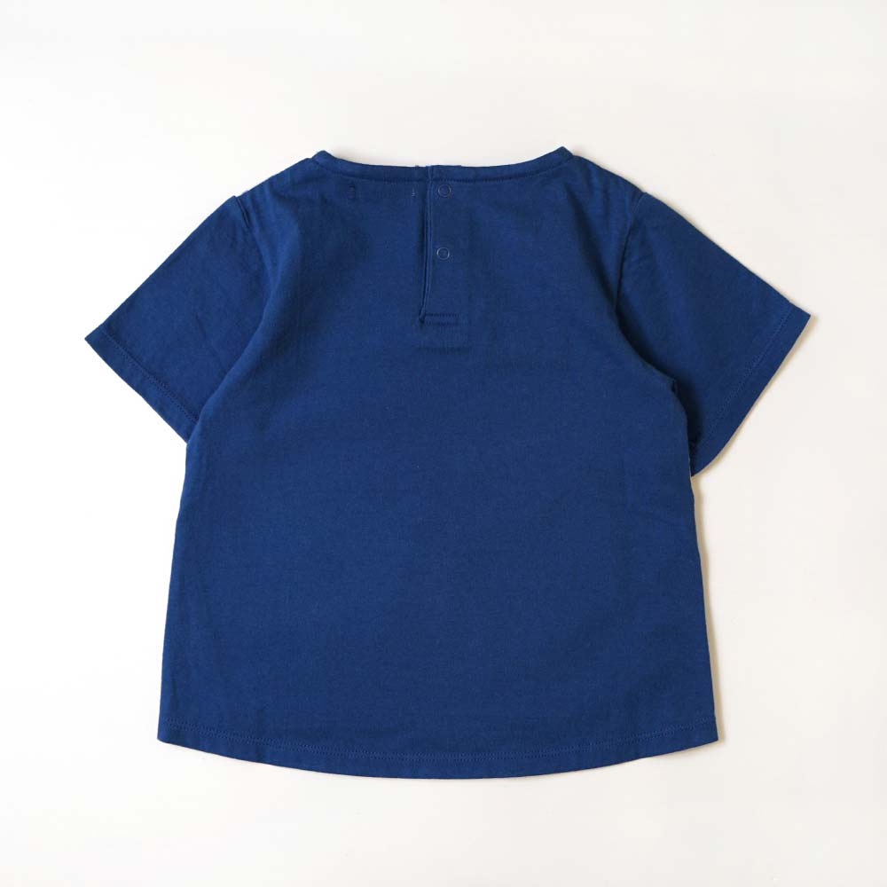 Bird Tee ブルー 80cm・90cm・100cm / Hoppetta