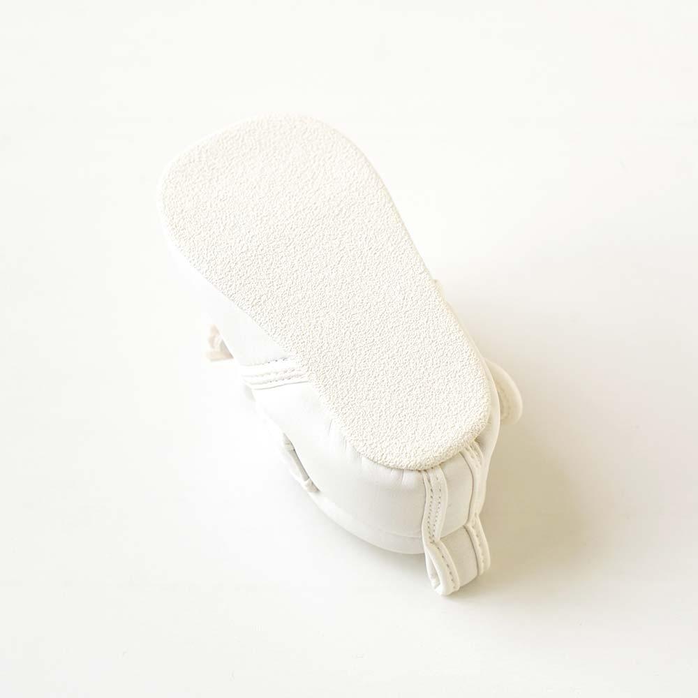 プレシューズ フリンジ ホワイト 11.5cm・12.0cm・12.5cm / 10mois(ディモワ)