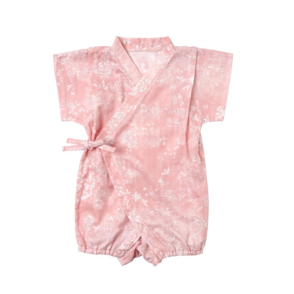 じんべいオール ピンク 70-80cm / NAOMI ITO