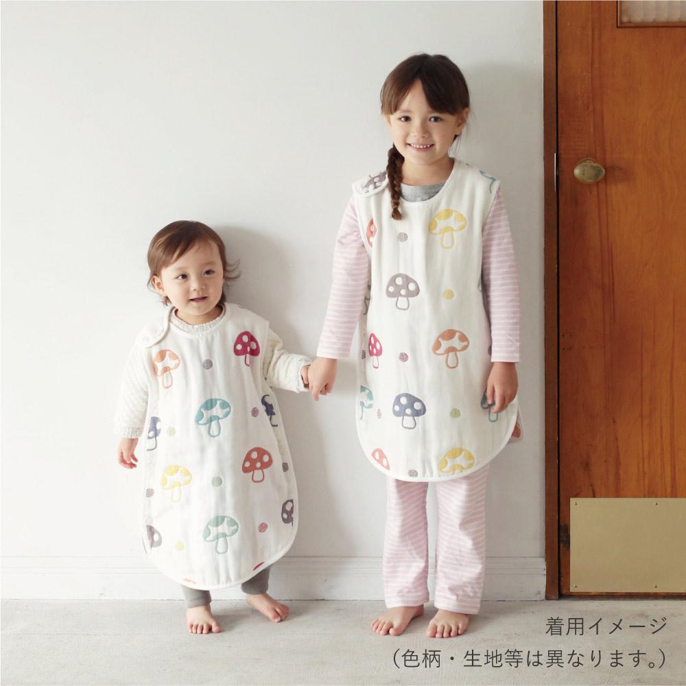 LOVEシャンピ ふくふくガーゼ(6重ガーゼ) スリーパー / Hoppetta