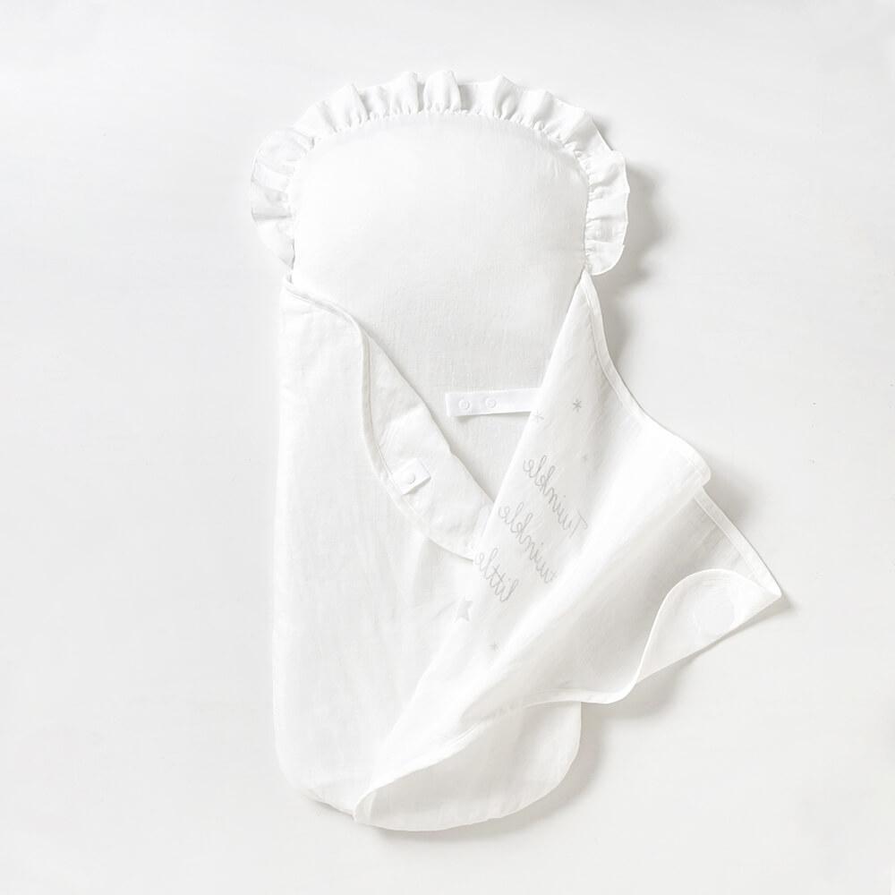たまごマットおくるみ ラッセルスルーマット / 10mois(ディモワ)