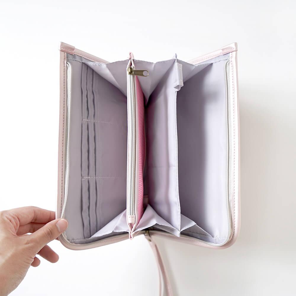 母子手帳ケース Pink & ママズケアセレクトボックスセット