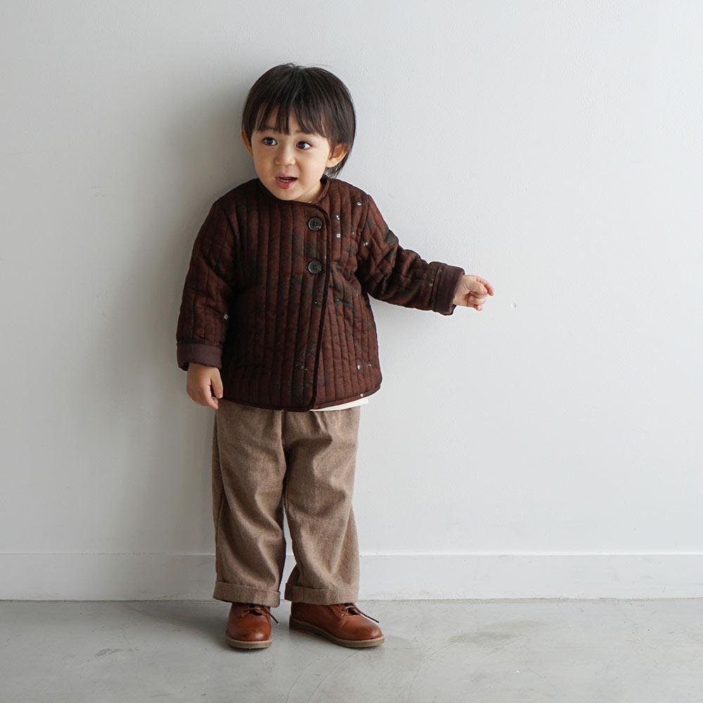 ワイドパンツ ベージュ 80cm・90cm / NAOMI ITO