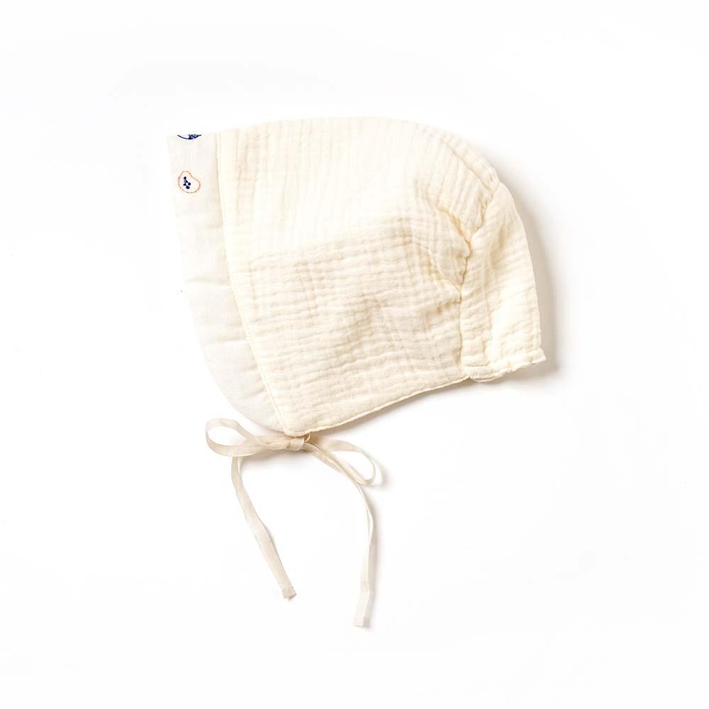 guri(ぐり) オーガニックコットン ベビードレス 50-70cm / Hoppetta