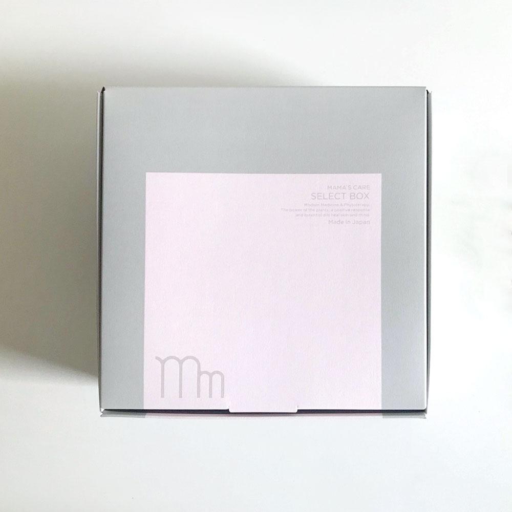 母子手帳ケース Silver & ママズケアセレクトボックスセット